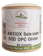 Ultra Antiox sélénium SOD OPC Olivier 60 capsules végétales antioxydant selenium spiruline Aromatic provence
