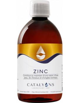 Oligo élément ZINC 500 ml Catalyons carbonate de zinc ionisé immunité Abcbeauté