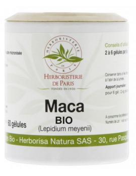 Maca Racine Bio 500mg 60 gélules Herboristerie de paris,  Tonus,  Compléments Alimentaires,  abcBeauté