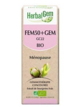 Fem50 + Gem 50ml  Herbalgem ménopause Abcbeauté