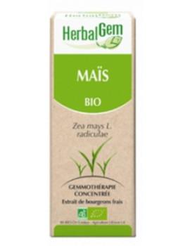 Maïs bourgeon Bio Zea mays Macérat 50 ml Herbalgem soutien cardio vasculaire et cardiaque Abcbeauté gemmothérapie