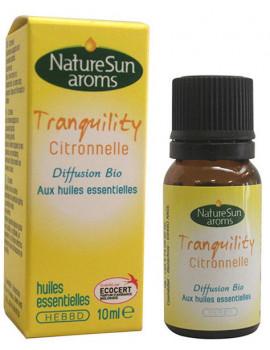 Tranquility Citronnelle 10ml NatureSun'arôms