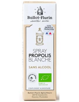 Spray propolis blanche sans alcool 15 ml Ballot Flurin