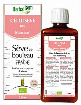 Celluseve Bio 250ml Herbalgem sève de bouleau drainante Abcbeauté
