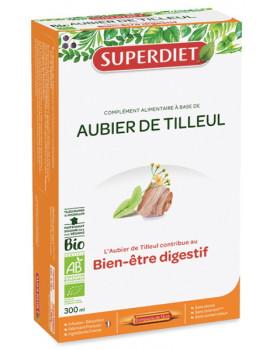 Aubier de Tilleul Bio 20 ampoules de 15ml Super Diet - complément alimentaire dépuratif bio Abcbeauté