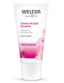 Rose musquée Crème de Jour lissante - Tube 30ml Weleda