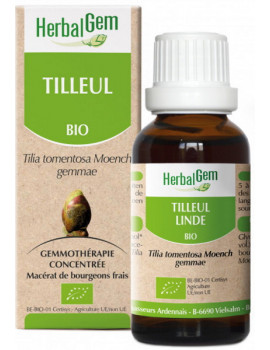 Tilleul bio 50ml macérat de bourgeons Herbalgem