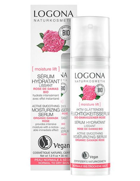 Sérum lissant rose de Damas bio Kalpariane 30ml Logona abcbeauté cosmétique