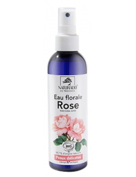Eau florale de Rose bio 200ml Naturado en Provence