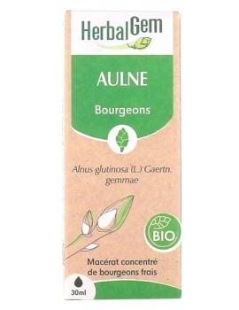 Aulne bio 50ml Herbalgem  protection et sensibilités Abcbeauté
