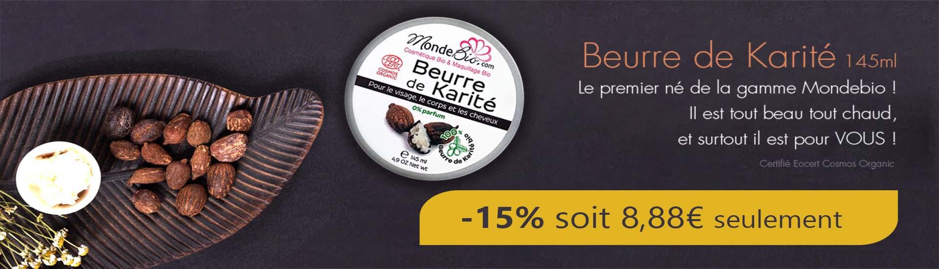 promotion sur le beurre de karité bio le monde du bio