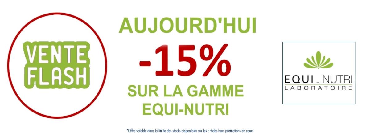-15% sur la gamme equi nutri