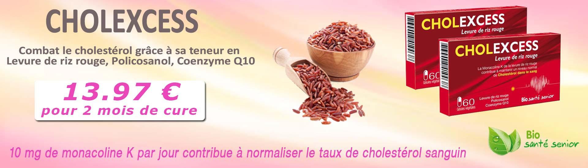cholestérol, levure de riz rouge