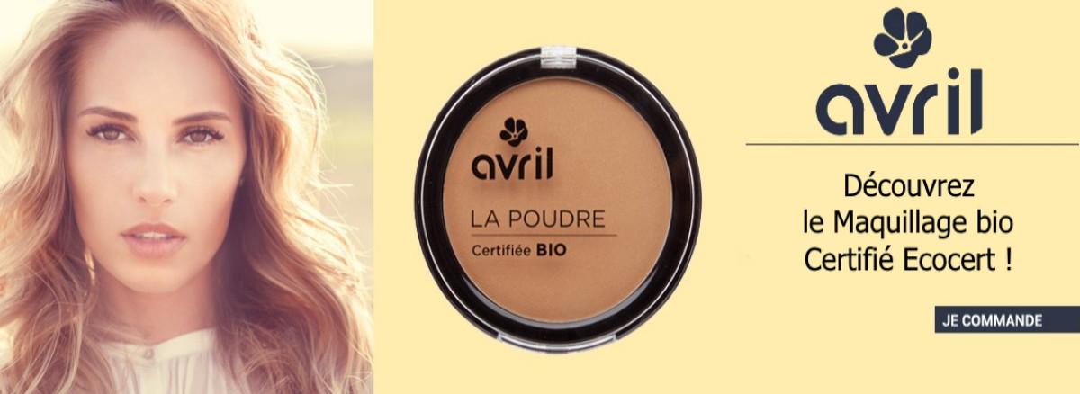 découvrez la gamme de maquillage bio avril beauté
